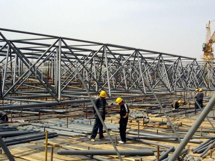 钢结构网架厂房