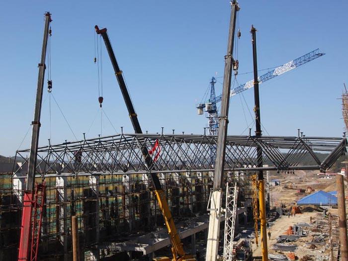 钢结构网架安装